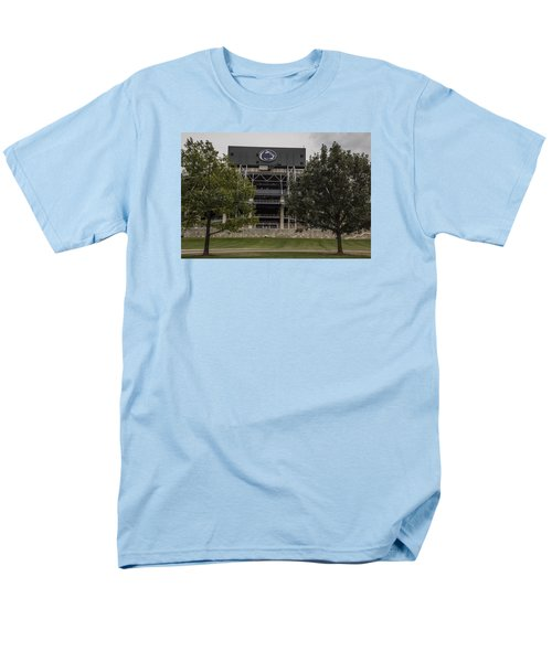 Penn State Beaver Stadium  Men's T-Shirt  (Regular Fit) by John McGraw
