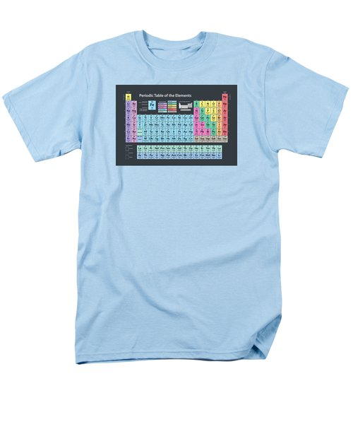Periodic Table Of Elements Men's T-Shirt  (Regular Fit) by Michael Tompsett