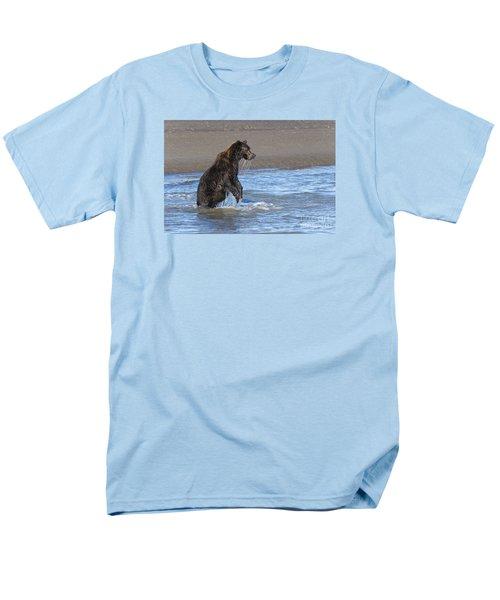 Men's T-Shirt  (Regular Fit) featuring the photograph Ready, Set, Go by Sandra Bronstein
