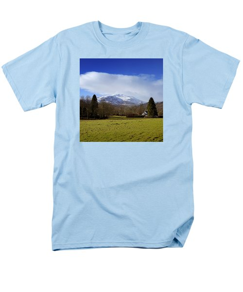 Men's T-Shirt  (Regular Fit) featuring the photograph Scottish Scenery by Jeremy Lavender Photography