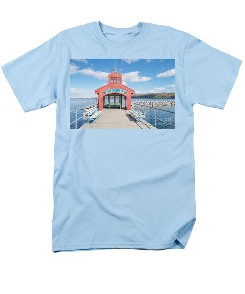 Seneca Lake Men's T-Shirt  (Regular Fit) by William Norton