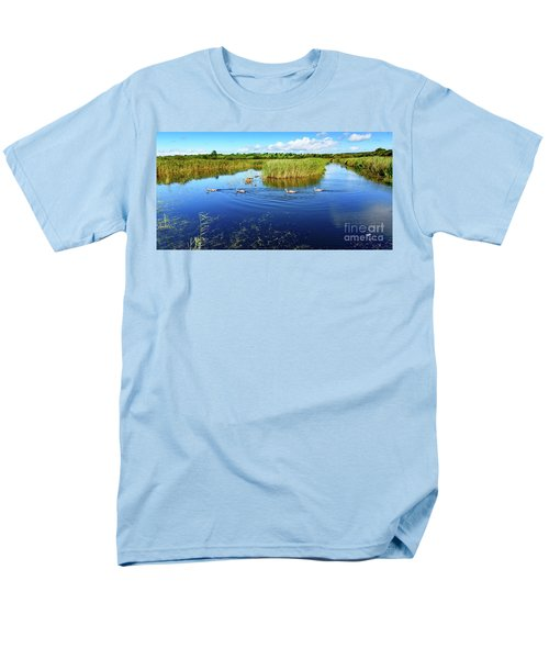 Somerset Levels Men's T-Shirt  (Regular Fit) by Colin Rayner
