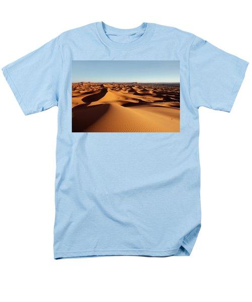 Sunset In Erg Chebbi Men's T-Shirt  (Regular Fit) by Aivar Mikko