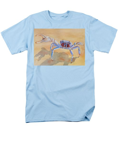 Men's T-Shirt  (Regular Fit) featuring the painting Talk To The Claw by Judy Mercer