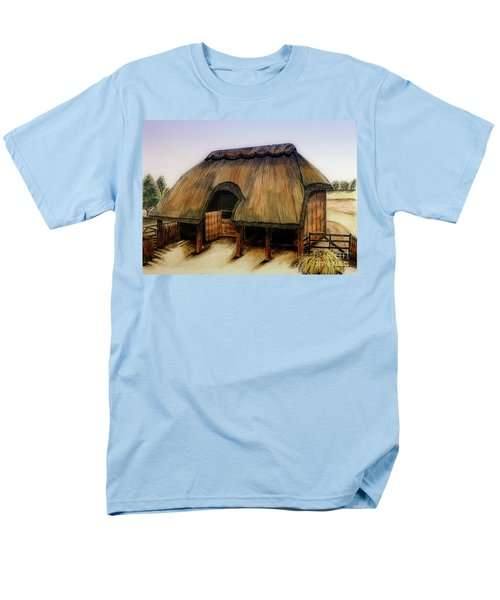 Thatched Barn Of Old Men's T-Shirt  (Regular Fit) by Shari Nees