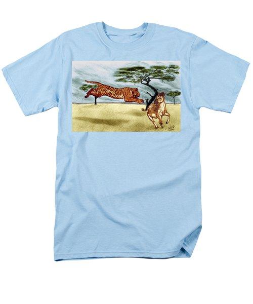 The Lunge Men's T-Shirt  (Regular Fit) by Peter Piatt