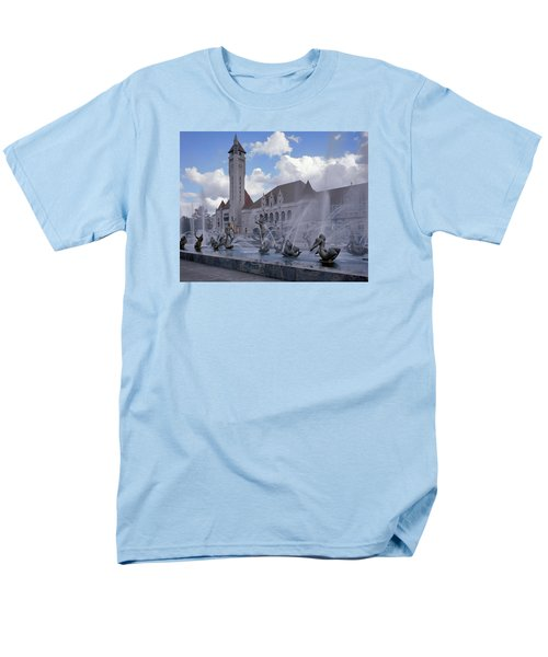 Men's T-Shirt  (Regular Fit) featuring the photograph Union Station - St Louis by Harold Rau