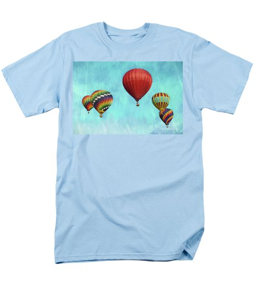 Men's T-Shirt  (Regular Fit) featuring the photograph Up Up And Away 2 by Benanne Stiens