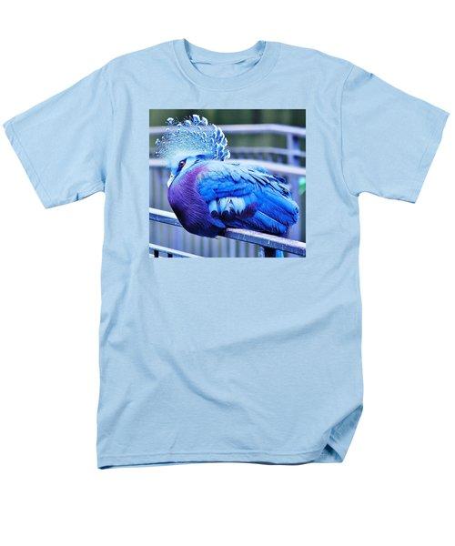 Victoria Crowned Pigeon Men's T-Shirt  (Regular Fit) by Al Fritz