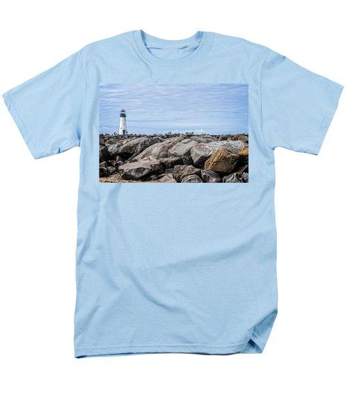 Walton Lighthouse Men's T-Shirt  (Regular Fit) by James Hammond