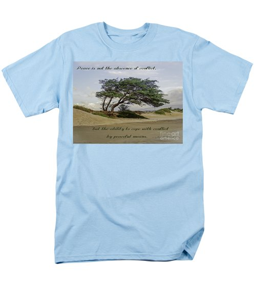 Men's T-Shirt  (Regular Fit) featuring the photograph Windy Lean by Gena Weiser