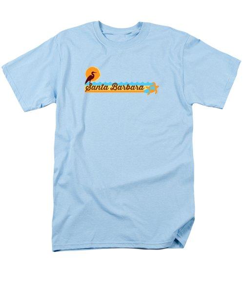 Santa Barbara Men's T-Shirt  (Regular Fit)
