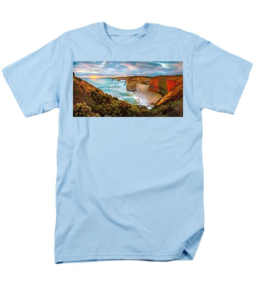 12 Apostle Sunset Men's T-Shirt  (Regular Fit) by Az Jackson