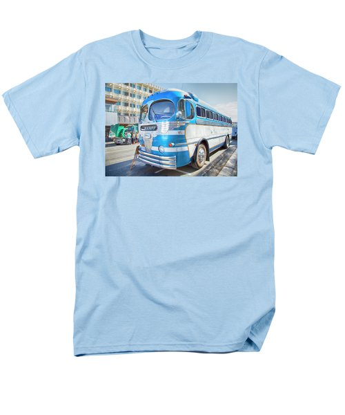 Men's T-Shirt  (Regular Fit) featuring the photograph 1946 Greyhound by Theresa Tahara
