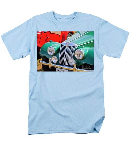 Men's T-Shirt  (Regular Fit) featuring the photograph 1954 Mg Tf Sports Car by Chris Dutton