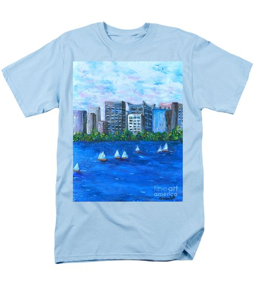 Men's T-Shirt  (Regular Fit) featuring the painting Art Study by Reina Resto