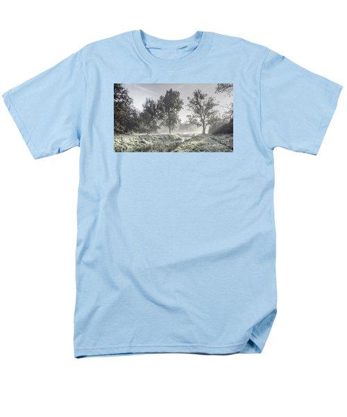 Colorful Autumn Landscape Men's T-Shirt  (Regular Fit) by Odon Czintos