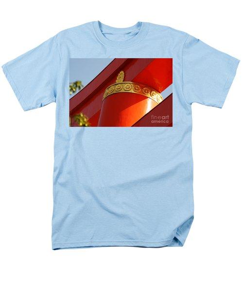 Men's T-Shirt  (Regular Fit) featuring the photograph Heian Torii by Cassandra Buckley