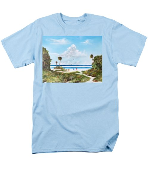 In Paradise Men's T-Shirt  (Regular Fit) by Lloyd Dobson