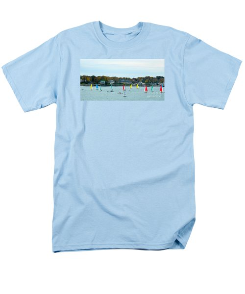 Sailing Men's T-Shirt  (Regular Fit) by Raymond Earley