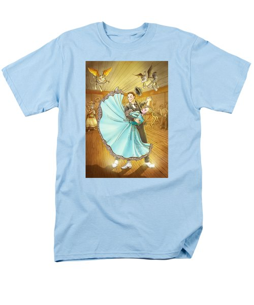 The Magic Dancing Shoes Men's T-Shirt  (Regular Fit) by Reynold Jay