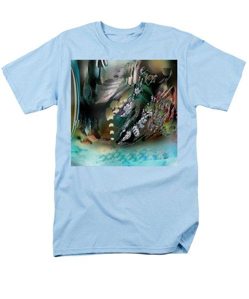 Art Abstract Men's T-Shirt  (Regular Fit) by Sheila Mcdonald