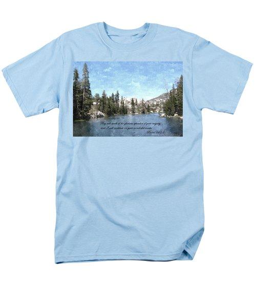 Inspirations 1 Men's T-Shirt  (Regular Fit) by Sara  Raber