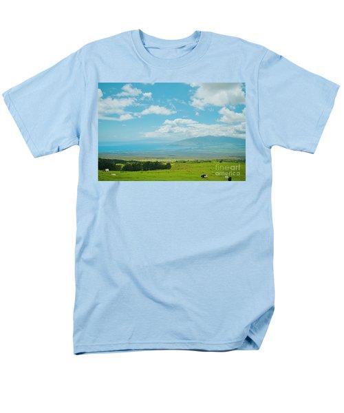 Kula Maui Hawaii Men's T-Shirt  (Regular Fit) by Sharon Mau