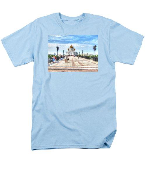 Moscow Russia Men's T-Shirt  (Regular Fit) by Yury Bashkin