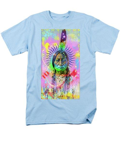 Sitting Bull Men's T-Shirt  (Regular Fit)
