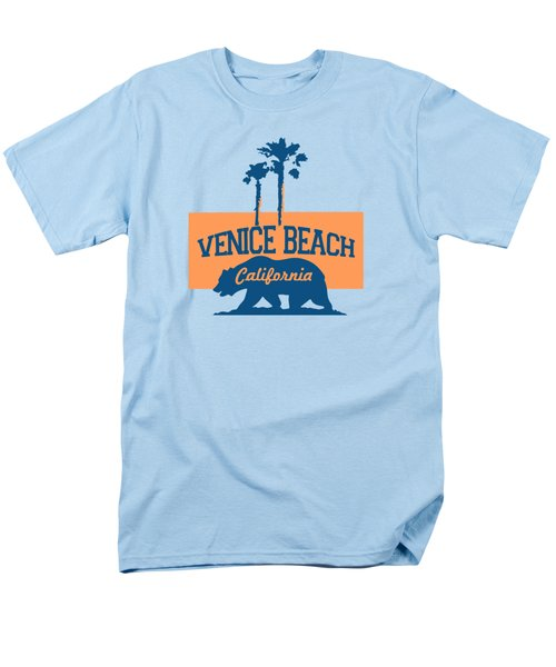 Venice Beach La. Men's T-Shirt  (Regular Fit) by Lerak Group LLC