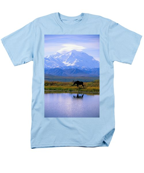 Denali National Park Men's T-Shirt  (Regular Fit) by John Hyde - Printscapes