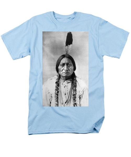 Sitting Bull (1834-1890) Men's T-Shirt  (Regular Fit) by Granger