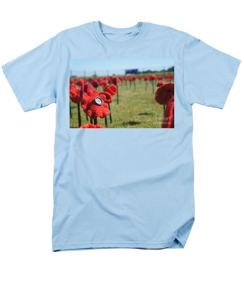 5000 Poppies Men's T-Shirt  (Regular Fit) by Therese Alcorn