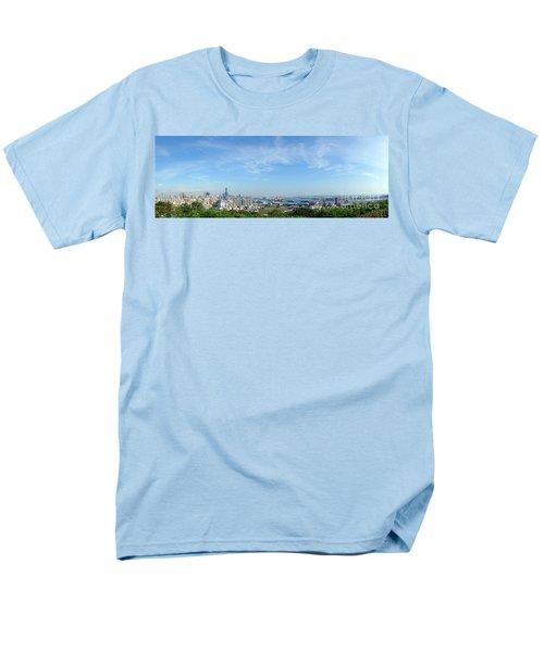 Panoramic View Of Kaohsiung City Men's T-Shirt  (Regular Fit) by Yali Shi