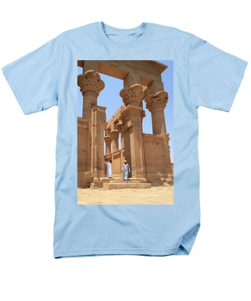 Temple Of Isis Men's T-Shirt  (Regular Fit) by Silvia Bruno