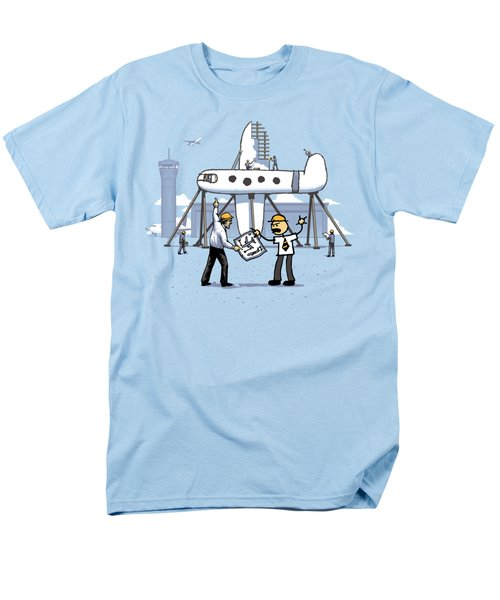 Men's T-Shirt  (Regular Fit) featuring the digital art A Matter Of Perspective by Ben Hartnett