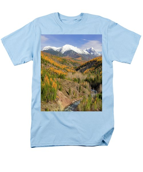 A River Runs Through It Men's T-Shirt  (Regular Fit) by Jack Bell