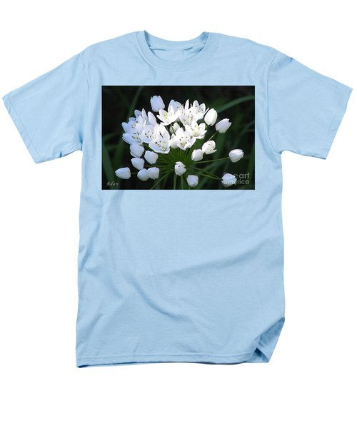 Men's T-Shirt  (Regular Fit) featuring the photograph A Spray Of Wild Onions by Felipe Adan Lerma