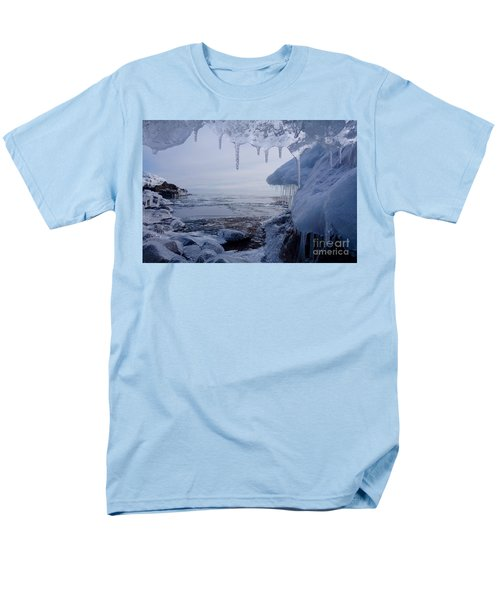 A Superior Ice Cave Men's T-Shirt  (Regular Fit) by Sandra Updyke