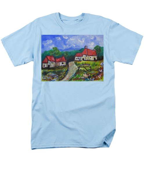 Abandoned Farm Men's T-Shirt  (Regular Fit) by Clyde J Kell