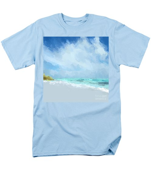Abstract Beach Afternoon  Men's T-Shirt  (Regular Fit) by Anthony Fishburne