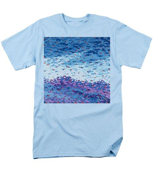 Abstract Landscape Painting 2 Men's T-Shirt  (Regular Fit) by Gordon Punt