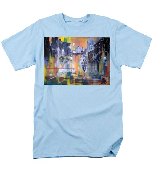 Abstract Of Motion Men's T-Shirt  (Regular Fit) by Raymond Doward