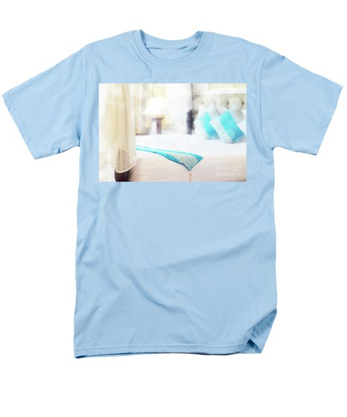 Men's T-Shirt  (Regular Fit) featuring the photograph Abstract Thai Style Bedroom by Atiketta Sangasaeng