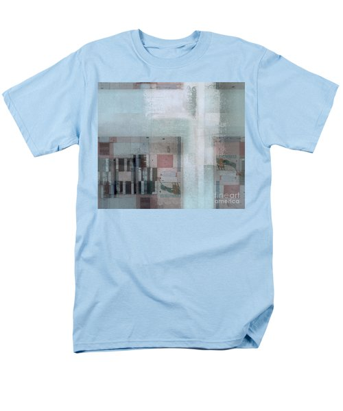 Men's T-Shirt  (Regular Fit) featuring the digital art Abstractitude - C7 by Variance Collections