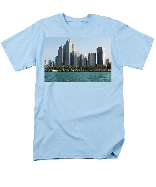 Men's T-Shirt  (Regular Fit) featuring the photograph Abu Dhabi by Hanza Turgul