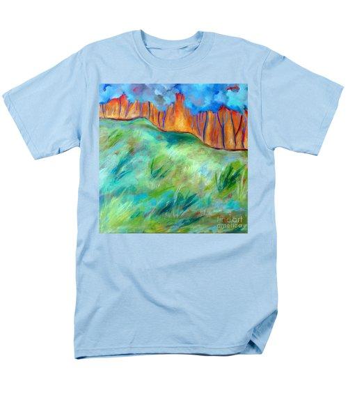 Across The Meadow Men's T-Shirt  (Regular Fit) by Elizabeth Fontaine-Barr