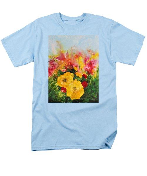 Acrylic Msc 218 Men's T-Shirt  (Regular Fit) by Mario Sergio Calzi