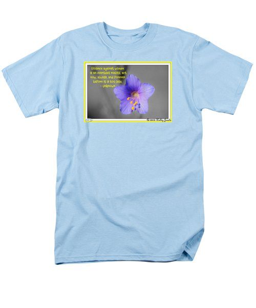 Men's T-Shirt  (Regular Fit) featuring the digital art Act Now And Forever by Holley Jacobs